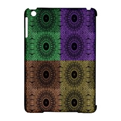 Creative Digital Pattern Computer Graphic Apple iPad Mini Hardshell Case (Compatible with Smart Cover)