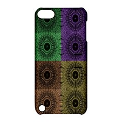 Creative Digital Pattern Computer Graphic Apple iPod Touch 5 Hardshell Case with Stand