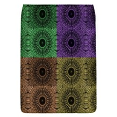 Creative Digital Pattern Computer Graphic Flap Covers (S)