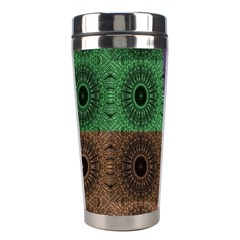 Creative Digital Pattern Computer Graphic Stainless Steel Travel Tumblers