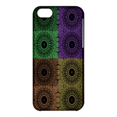 Creative Digital Pattern Computer Graphic Apple iPhone 5C Hardshell Case