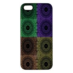 Creative Digital Pattern Computer Graphic iPhone 5S/ SE Premium Hardshell Case