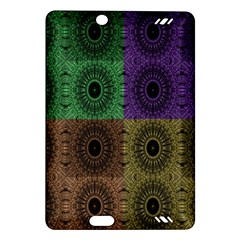 Creative Digital Pattern Computer Graphic Amazon Kindle Fire Hd (2013) Hardshell Case