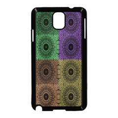 Creative Digital Pattern Computer Graphic Samsung Galaxy Note 3 Neo Hardshell Case (Black)