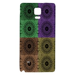 Creative Digital Pattern Computer Graphic Galaxy Note 4 Back Case
