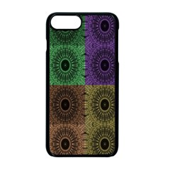 Creative Digital Pattern Computer Graphic Apple Iphone 7 Plus Seamless Case (black)