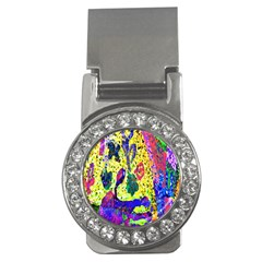 Grunge Abstract Yellow Hand Grunge Effect Layered Images Of Texture And Pattern In Yellow White Black Money Clips (cz)