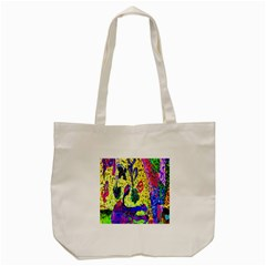 Grunge Abstract Yellow Hand Grunge Effect Layered Images Of Texture And Pattern In Yellow White Black Tote Bag (cream)