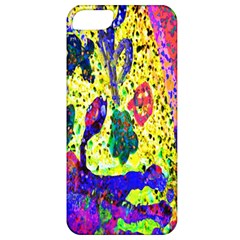 Grunge Abstract Yellow Hand Grunge Effect Layered Images Of Texture And Pattern In Yellow White Black Apple iPhone 5 Classic Hardshell Case