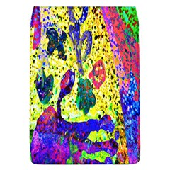 Grunge Abstract Yellow Hand Grunge Effect Layered Images Of Texture And Pattern In Yellow White Black Flap Covers (L)