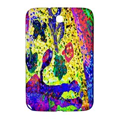Grunge Abstract Yellow Hand Grunge Effect Layered Images Of Texture And Pattern In Yellow White Black Samsung Galaxy Note 8.0 N5100 Hardshell Case