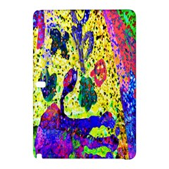 Grunge Abstract Yellow Hand Grunge Effect Layered Images Of Texture And Pattern In Yellow White Black Samsung Galaxy Tab Pro 12.2 Hardshell Case