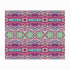 Colorful Seamless Background With Floral Elements Small Glasses Cloth