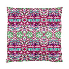 Colorful Seamless Background With Floral Elements Standard Cushion Case (one Side)