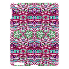 Colorful Seamless Background With Floral Elements Apple iPad 3/4 Hardshell Case