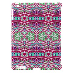 Colorful Seamless Background With Floral Elements Apple iPad 3/4 Hardshell Case (Compatible with Smart Cover)