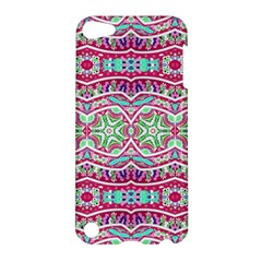 Colorful Seamless Background With Floral Elements Apple Ipod Touch 5 Hardshell Case