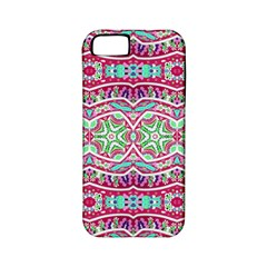 Colorful Seamless Background With Floral Elements Apple iPhone 5 Classic Hardshell Case (PC+Silicone)
