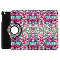 Colorful Seamless Background With Floral Elements Apple Ipad Mini Flip 360 Case