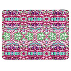 Colorful Seamless Background With Floral Elements Samsung Galaxy Tab 7  P1000 Flip Case