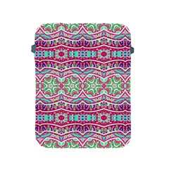 Colorful Seamless Background With Floral Elements Apple iPad 2/3/4 Protective Soft Cases