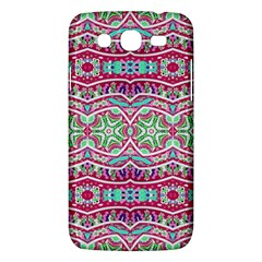Colorful Seamless Background With Floral Elements Samsung Galaxy Mega 5 8 I9152 Hardshell Case