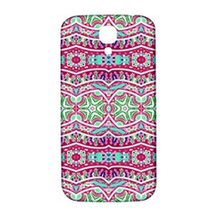 Colorful Seamless Background With Floral Elements Samsung Galaxy S4 I9500/I9505  Hardshell Back Case