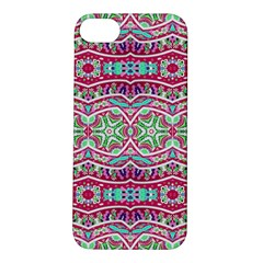 Colorful Seamless Background With Floral Elements Apple iPhone 5S/ SE Hardshell Case