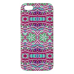Colorful Seamless Background With Floral Elements Iphone 5s/ Se Premium Hardshell Case