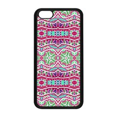 Colorful Seamless Background With Floral Elements Apple Iphone 5c Seamless Case (black)