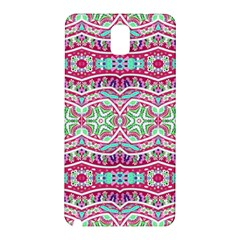 Colorful Seamless Background With Floral Elements Samsung Galaxy Note 3 N9005 Hardshell Back Case