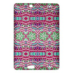 Colorful Seamless Background With Floral Elements Amazon Kindle Fire Hd (2013) Hardshell Case