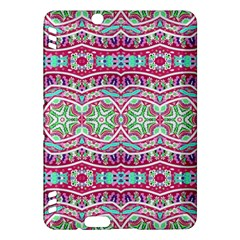 Colorful Seamless Background With Floral Elements Kindle Fire HDX Hardshell Case