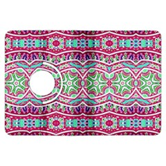 Colorful Seamless Background With Floral Elements Kindle Fire HDX Flip 360 Case