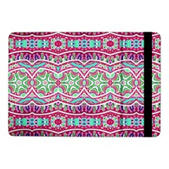 Colorful Seamless Background With Floral Elements Samsung Galaxy Tab Pro 10.1  Flip Case