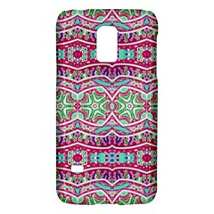 Colorful Seamless Background With Floral Elements Galaxy S5 Mini