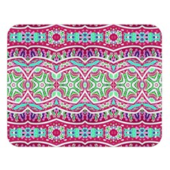 Colorful Seamless Background With Floral Elements Double Sided Flano Blanket (Large)
