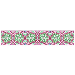 Colorful Seamless Background With Floral Elements Flano Scarf (small)