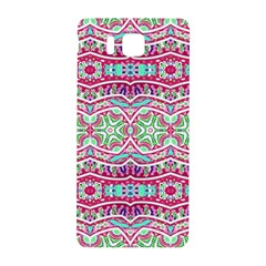 Colorful Seamless Background With Floral Elements Samsung Galaxy Alpha Hardshell Back Case