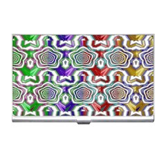 Digital Patterned Ornament Computer Graphic Business Card Holders
