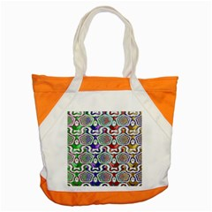 Digital Patterned Ornament Computer Graphic Accent Tote Bag