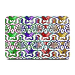 Digital Patterned Ornament Computer Graphic Plate Mats