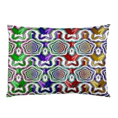Digital Patterned Ornament Computer Graphic Pillow Case (Two Sides)