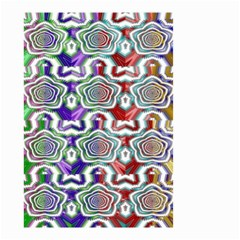 Digital Patterned Ornament Computer Graphic Small Garden Flag (two Sides)