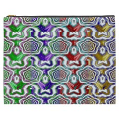Digital Patterned Ornament Computer Graphic Cosmetic Bag (XXXL)