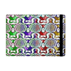 Digital Patterned Ornament Computer Graphic Apple Ipad Mini Flip Case