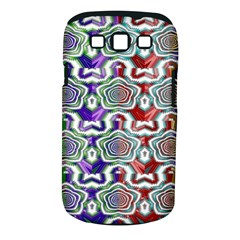 Digital Patterned Ornament Computer Graphic Samsung Galaxy S Iii Classic Hardshell Case (pc+silicone)