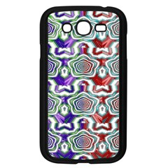 Digital Patterned Ornament Computer Graphic Samsung Galaxy Grand DUOS I9082 Case (Black)