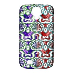 Digital Patterned Ornament Computer Graphic Samsung Galaxy S4 Classic Hardshell Case (PC+Silicone)