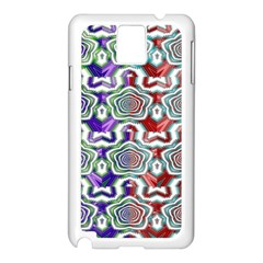 Digital Patterned Ornament Computer Graphic Samsung Galaxy Note 3 N9005 Case (White)